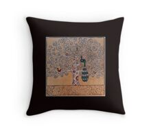 Bird Sanctuary Throw Pillow