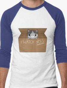 Cats always watching you Men's Baseball ¾ T-Shirt