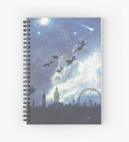 Welcome to Neverland- version 2 Spiral Notebook