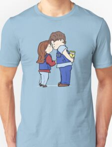 coffee and kisses Unisex T-Shirt