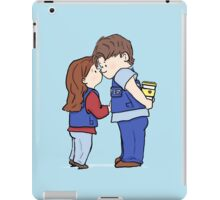 coffee and kisses iPad Case/Skin