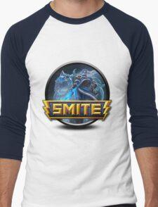 Smite Skadi Logo Men's Baseball ¾ T-Shirt