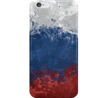Russian Flag (Textures) iPhone Case/Skin