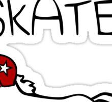 Skaters Gonna Skate (Unicorn Roller Derby) Sticker