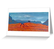 Barnesmore Gap, Donegal, Ireland Greeting Card