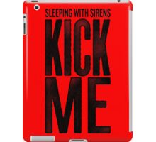 Sleeping With SIrens - Kick Me Album Cover iPad Case/Skin