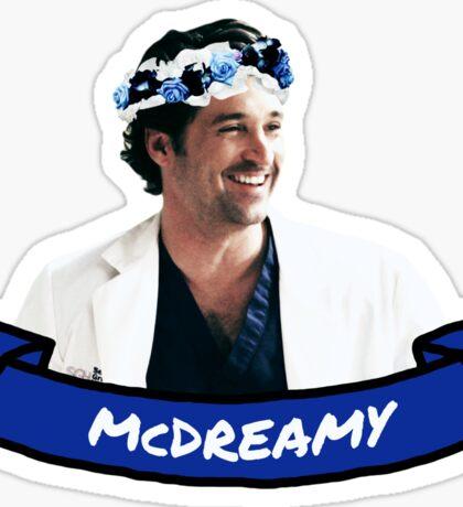 McDreamy Sticker
