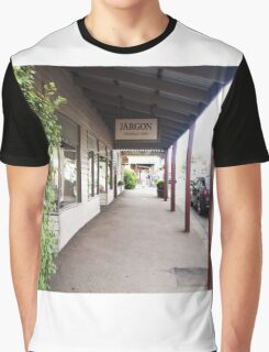Streetscape Trentham VIC Austraia Graphic T-Shirt