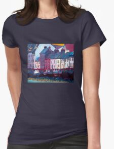 The Long Walk, Boats (Galway) Womens Fitted T-Shirt