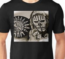 MAYAN DEATH MASK Unisex T-Shirt