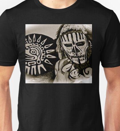 MAYAN DEATH MASK Unisex T-Shirt