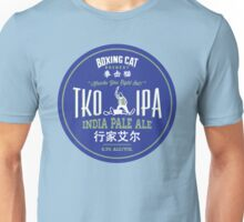 Boxing Cat Brewery TKO IPA  India Pale Ale Chinese Beer Unisex T-Shirt
