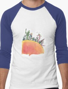 James and the Giant Peach Men's Baseball ¾ T-Shirt