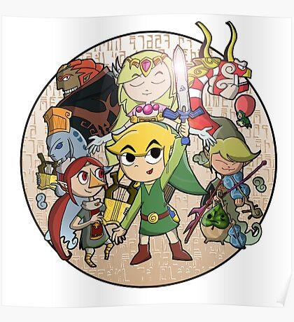 Zelda: Wind Waker Poster