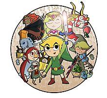 Zelda: Wind Waker Photographic Print