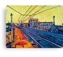 Heuston III, Dublin Canvas Print