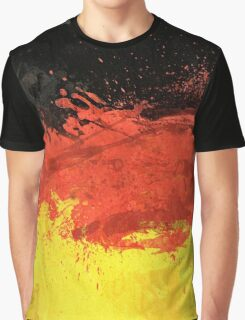 Flag of Germany (Texture) Graphic T-Shirt