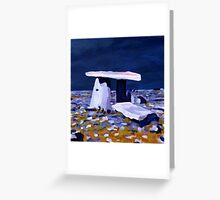 Poulnabrone, Clare Greeting Card