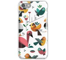 Geo Birds iPhone Case/Skin