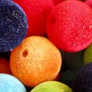 Coloured Felt Beads by Adam Regester
