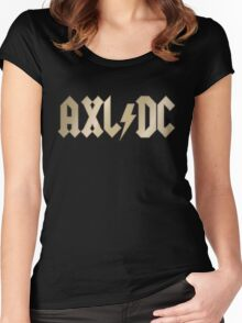 AXL/DC Women's Fitted Scoop T-Shirt
