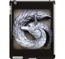silver fox sculpture iPad Case/Skin