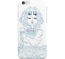Waves-Good Vibes iPhone Case/Skin