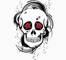 Skull roses Unisex T-Shirt