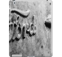 rusty ford iPad Case/Skin