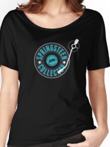 Springsteen Collector 2016 (Vinyl) Women's Relaxed Fit T-Shirt