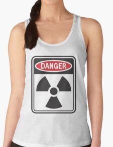 Danger: Radiation Women's Tank Top
