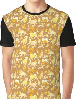 Dogs In Sweaters (Brown) Graphic T-Shirt