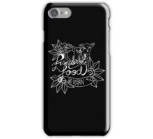Friends not Food- inverted colors iPhone Case/Skin
