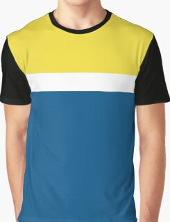Simple Modern Duotone Buttercup vs Snorkel Blue Spring 2016 Graphic T-Shirt