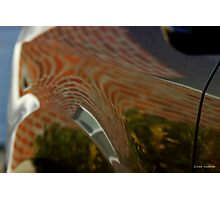House on Car Abstract Photographic Print