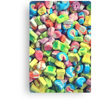 Lucky Charms Marshmallow  Canvas Print