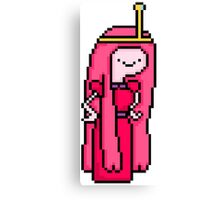 8-bit Princess Bubblegum Canvas Print