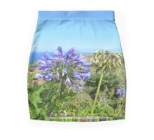 Agapanthus In The Azores Mini Skirt