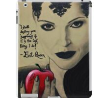 The 'Evil Queen' from 'Once Upon A Time' iPad Case/Skin