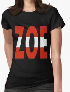 Zoe - Loin d'ici - Eurovision 2016 - Austria Womens Fitted T-Shirt