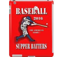 Baseball-Super Batters - 2016 iPad Case/Skin