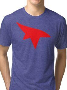 Mirrors Edge Minimalist Logo  Tri-blend T-Shirt