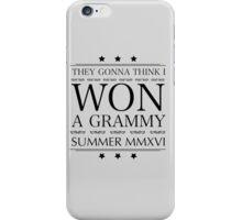 GRAMMY iPhone Case/Skin