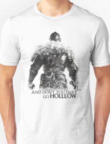 Dark Souls - Don't Dare go Hollow - White T-Shirt