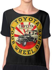 Vintage Land Cruiser Chiffon Top
