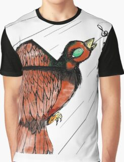 Sing My Little Bird Graphic T-Shirt