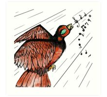 Sing My Little Bird Art Print