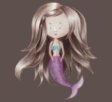Melancholy Mermaid One Piece - Short Sleeve