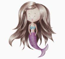 Melancholy Mermaid Kids Tee
