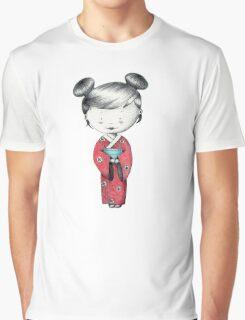 Kimono Graphic T-Shirt